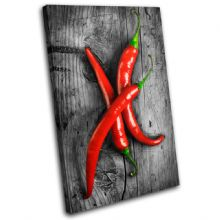 Hot Chili Peppers Food Kitchen - 13-1290(00B)-SG32-PO